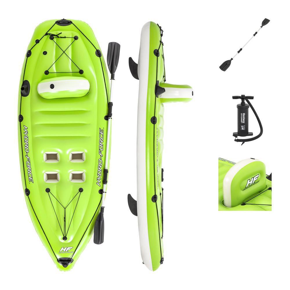 Kayak De Pesca Inflable Bestway Koracle Verde image number 0.0