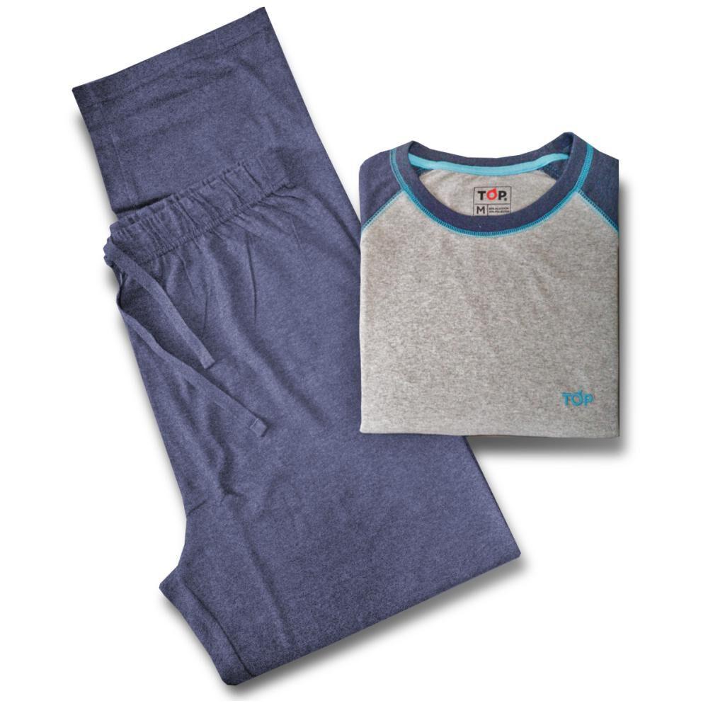 Pijama Top Liso image number 1.0