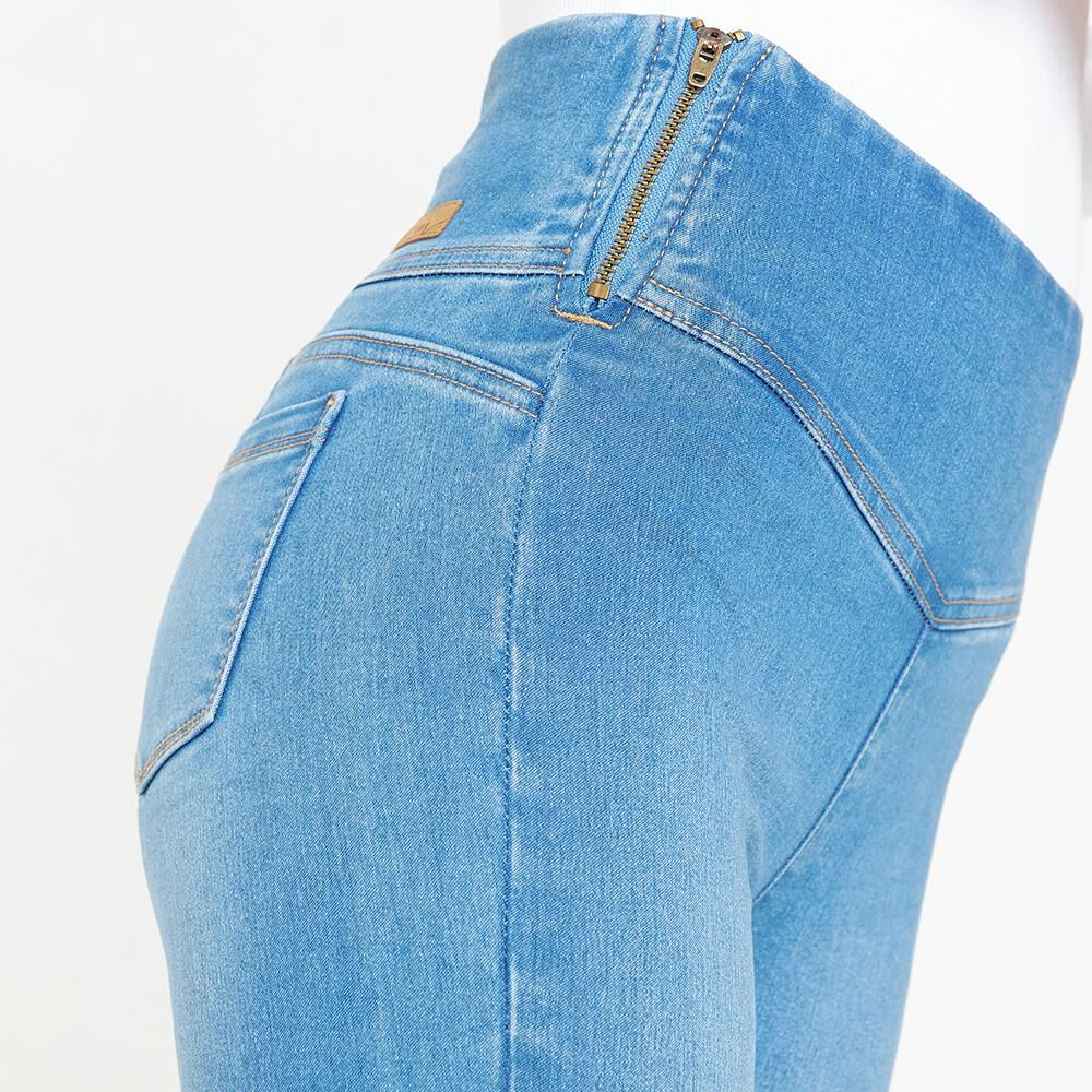 Jeans Mujer Tiro Alto Push up Freedom image number 3.0