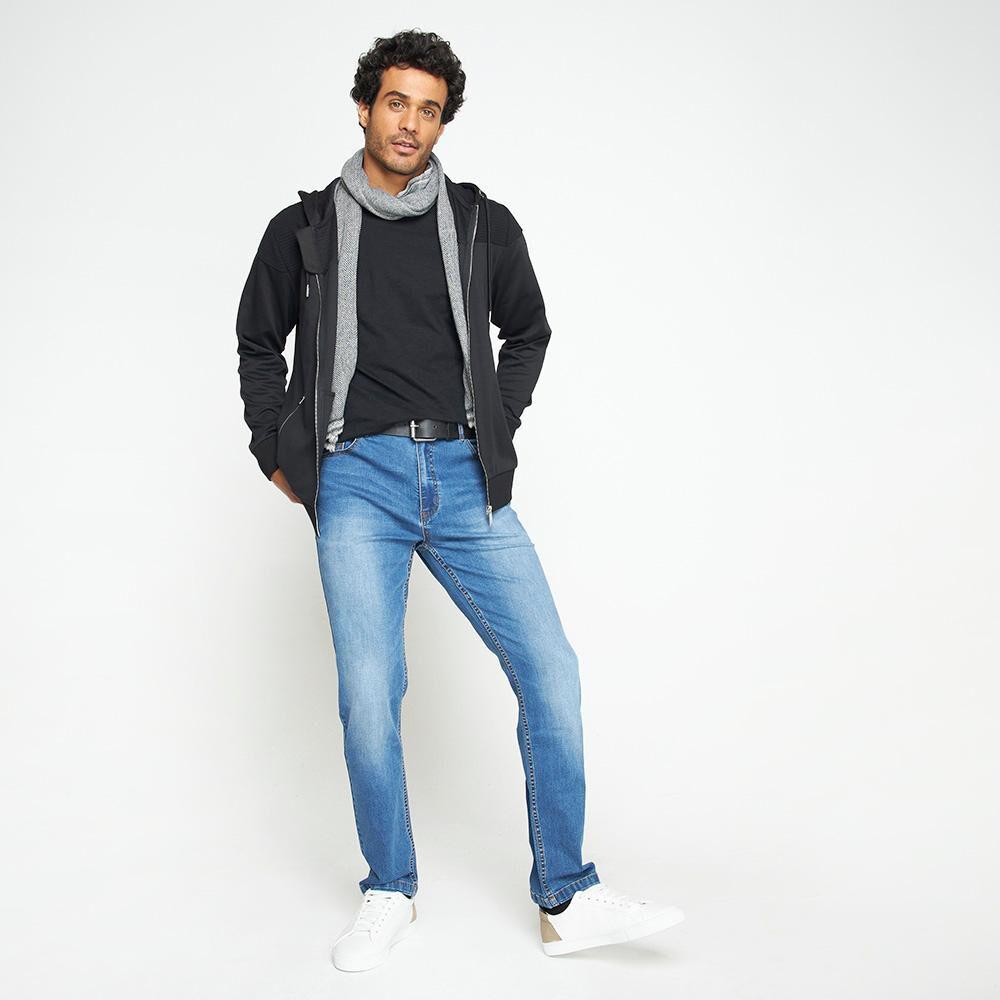 Jeans Hombre Az Black image number 1.0