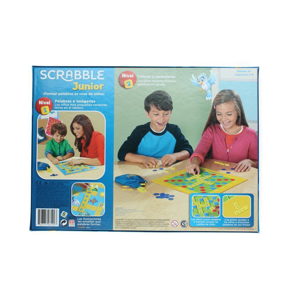 Juego Didactico Scrabble Junior image number 1.0