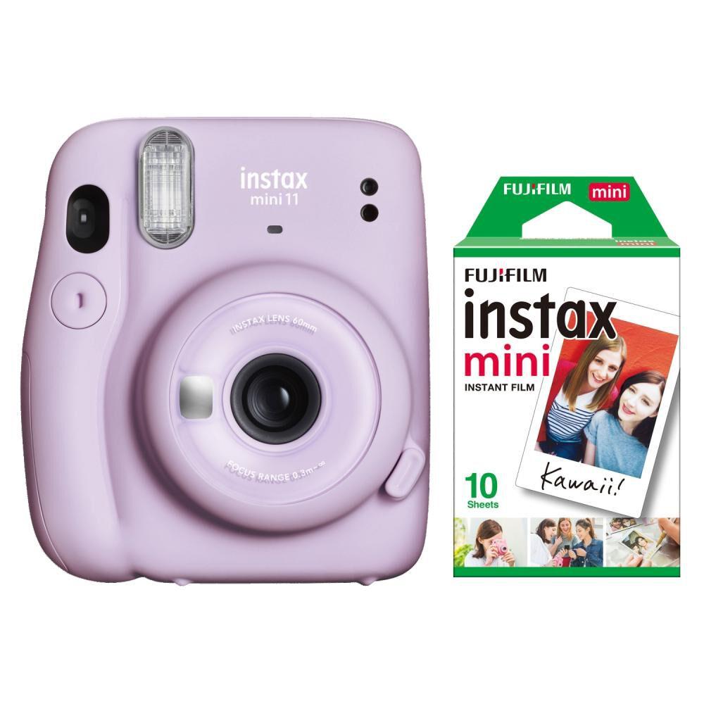 Cámara Instantánea Fujifilm Instax Mini 11 Lila + Película image number 0.0