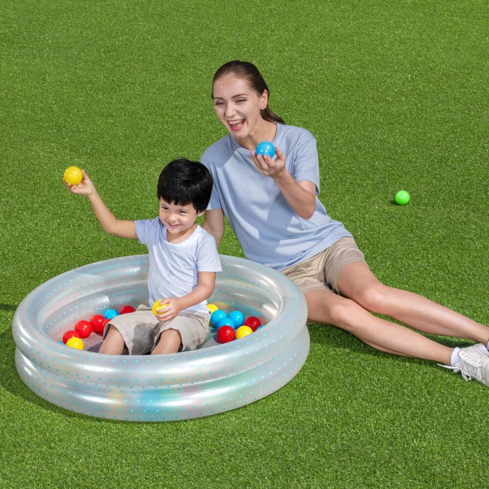 Piscina Inflable 2 Anillos Bestway Con Pelotas image number 2.0
