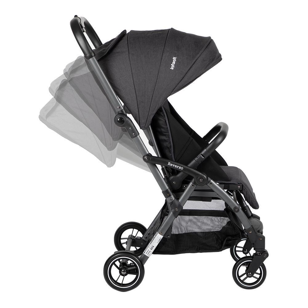 Coche De Paseo Infanti Reverso Dark Grey image number 4.0