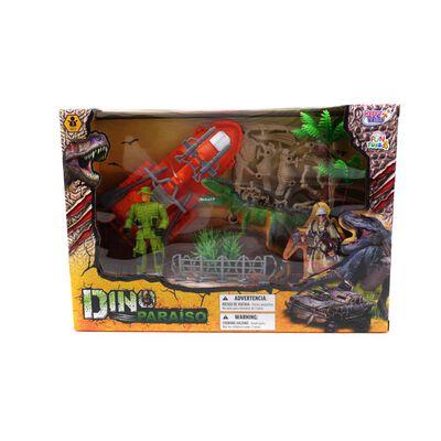 Dino Set Canoa Hitoys