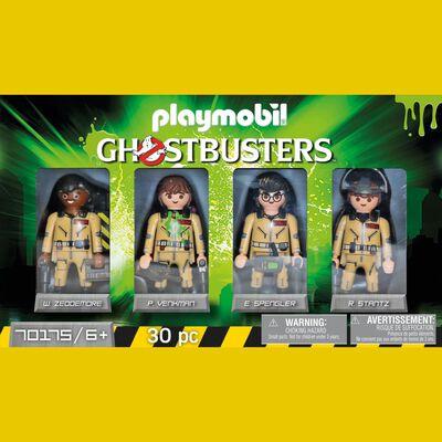 Figura De Acción Playmobil Set De Coleccionista Cazafantasmas