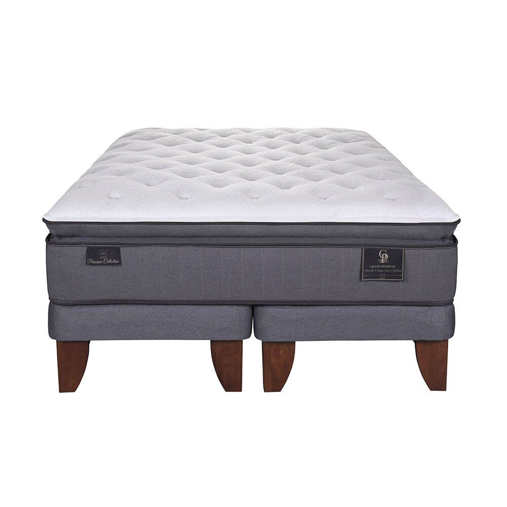 Cama Europea Cic Grand Premium / King / Base Dividida image number 1.0