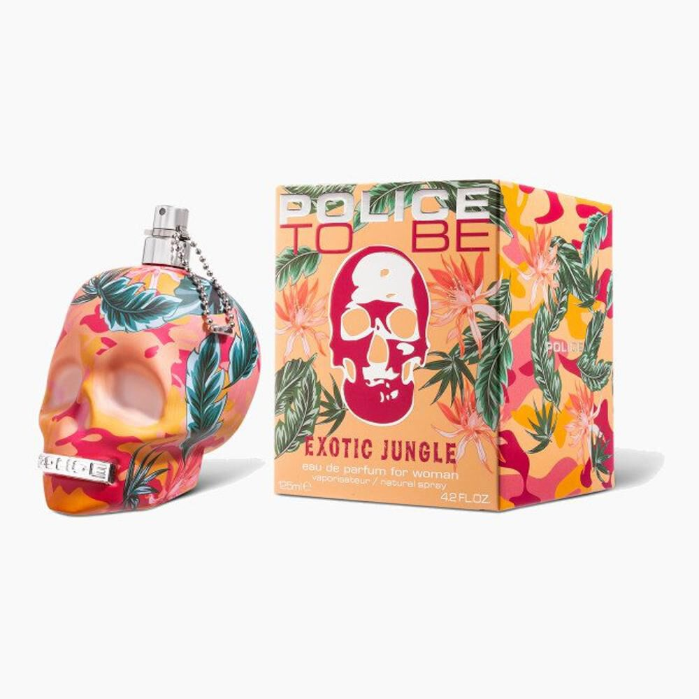 Perfume To Be Exotic Jungle Woman Police / 125 Ml / Edt image number 1.0