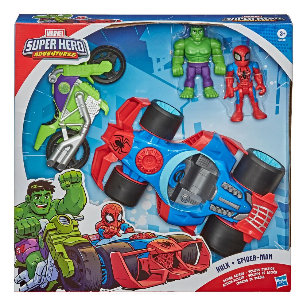 Figura De Acción Marvel Set Bólidos De Acción image number 2.0