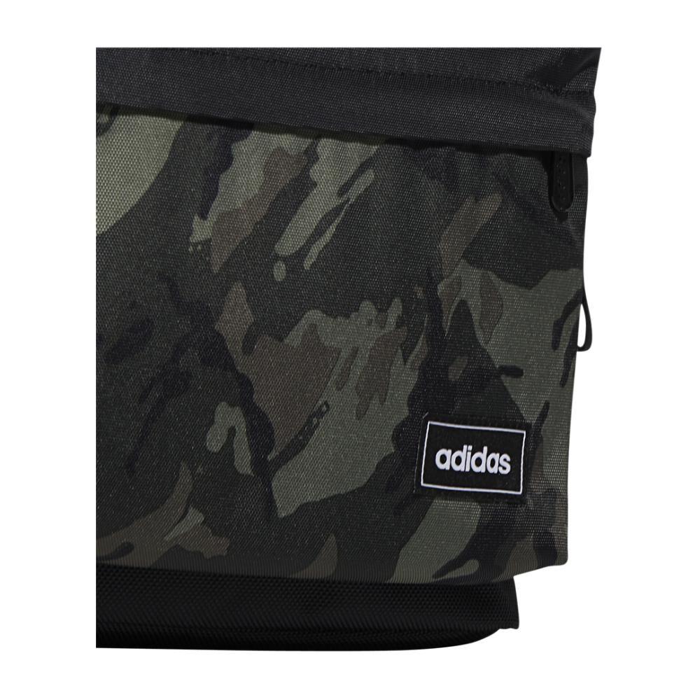 Mochila Unisex Adidas Classic Camo Backpack image number 3.0