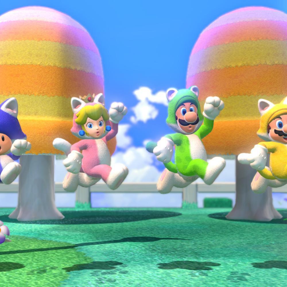 Juego Nintendo Switch Nintendo Super Mario™ 3d World + Bowser's Fury image number 7.0