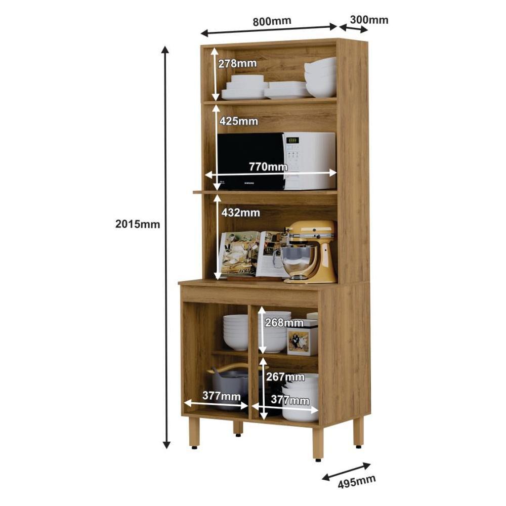 Mueble De Cocina Home Mobili Kalahari/montana / 3 Puertas image number 3.0