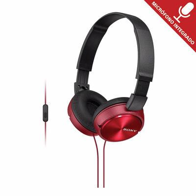 Audifonos Sony Mdr-Zx310Ap Rojo