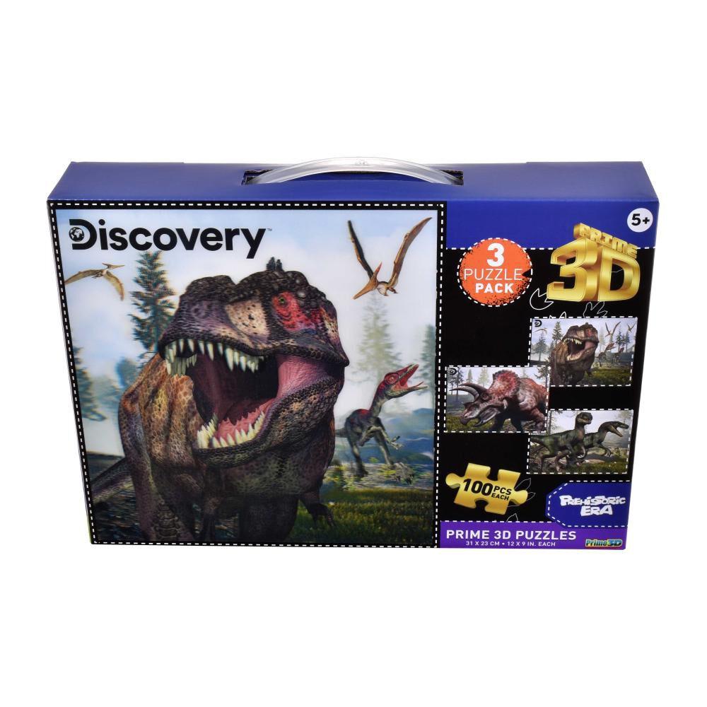 Pack Puzzles Ansaldo 3d Dinosaurios image number 0.0