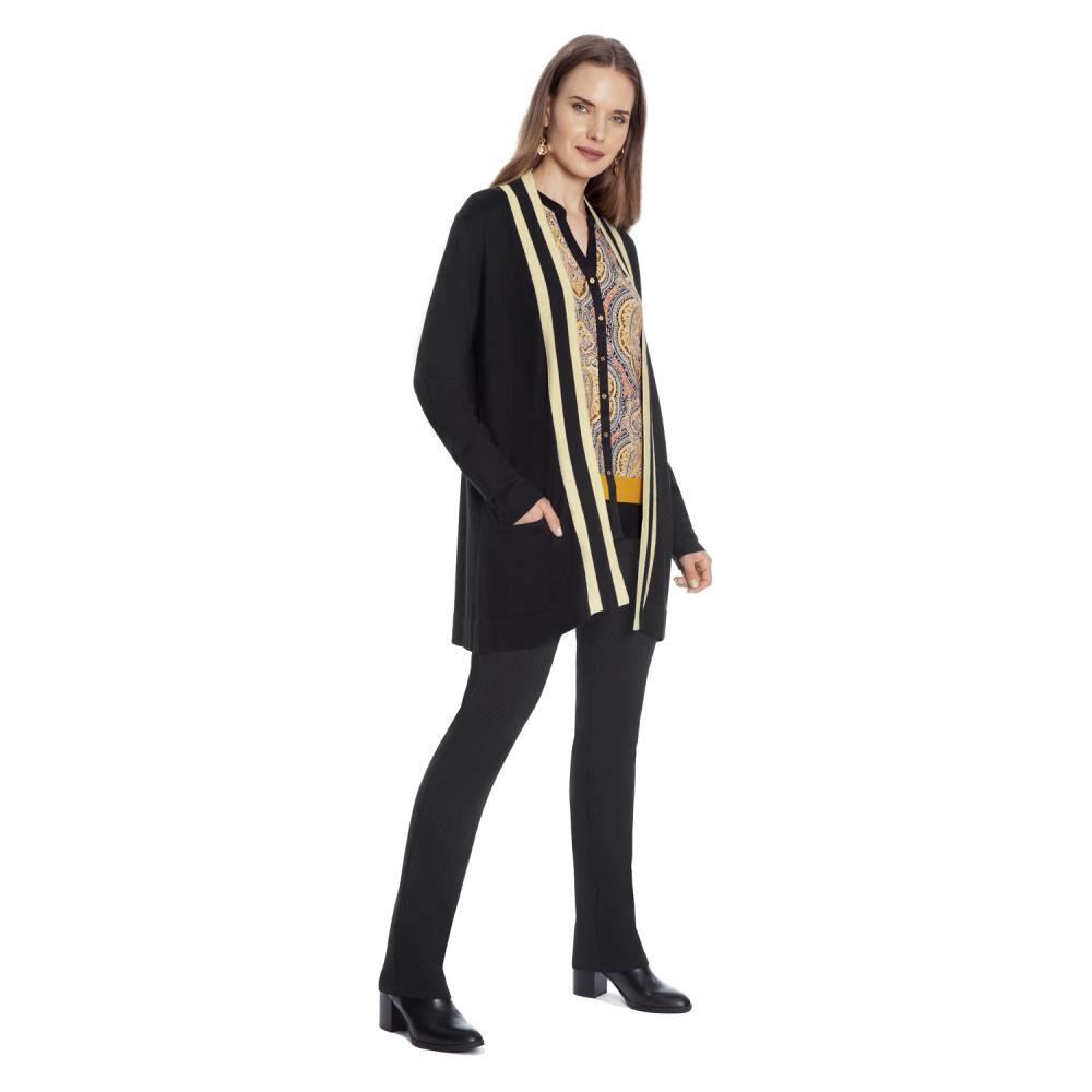 Sweater Cardigan Mujer Lorenzo Di Pontti image number 3.0