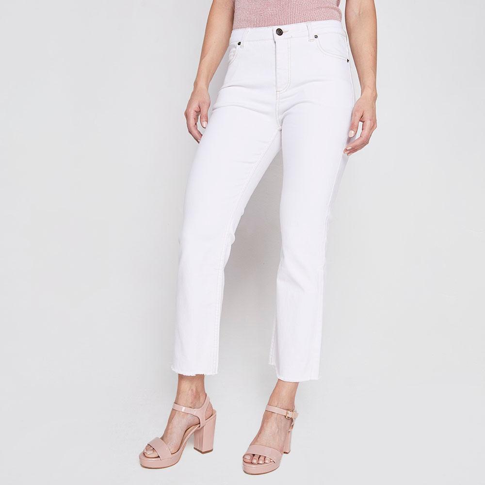 Jeans Mujer Crop Kimera image number 0.0