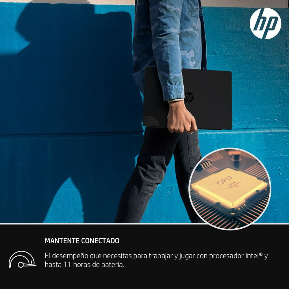 "Notebook Hp 14-ck2091la / Intel Core I3 / 4 Gb Ram / Gráficos Intel® Uhd / 128 Gb Ssd / 14 "" image number 8.0"
