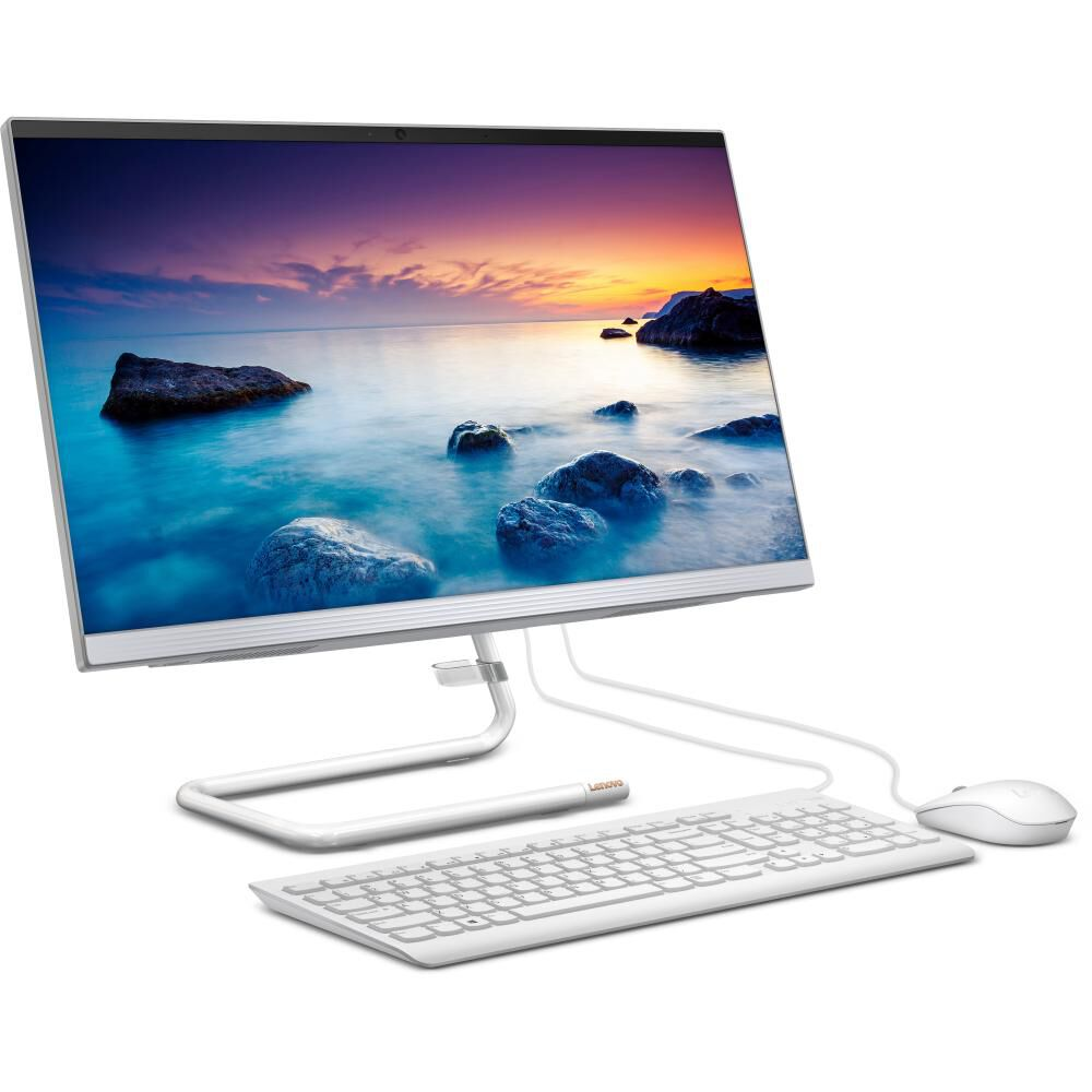 """All In One Lenovo Ideacentre A340-24IWL / Intel Core I3 / 8 GB Ram / 512 GB SSD / 23.8 """" image number 2.0"""