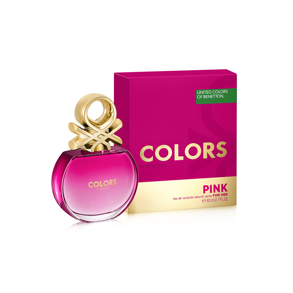 Bnt Colors Pink Edt 80Ml429 image number 0.0