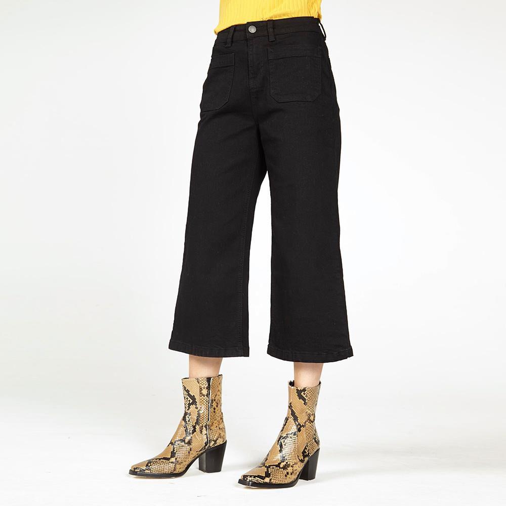 Jeans Mujer Tiro Medio Straight Kimera image number 0.0