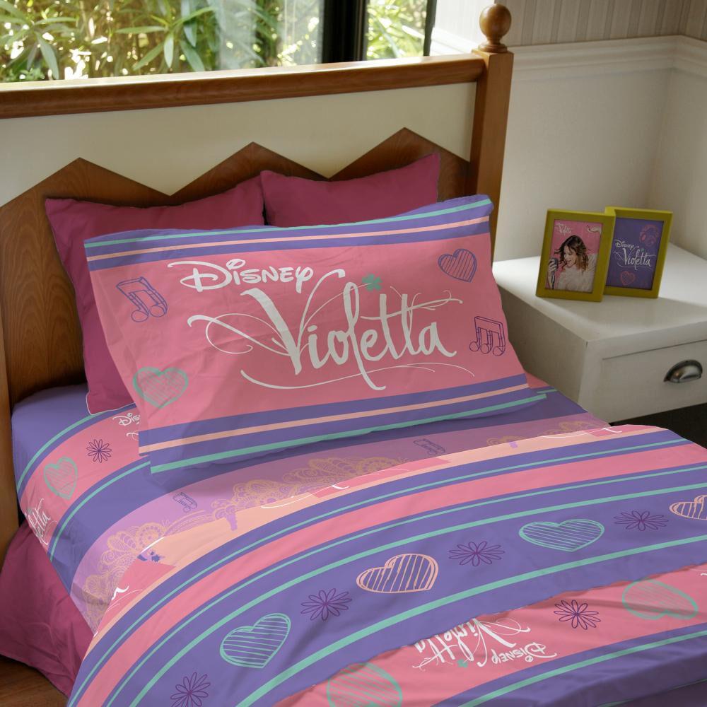 Juego De Sabanas Windsor Violeta Pop Star / 1.5 Plazas image number 0.0