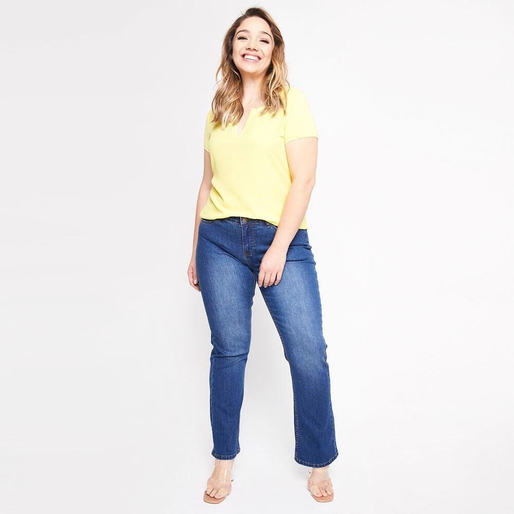 Jeans Mujer Tiro Medio Skinny Sexy large image number 1.0