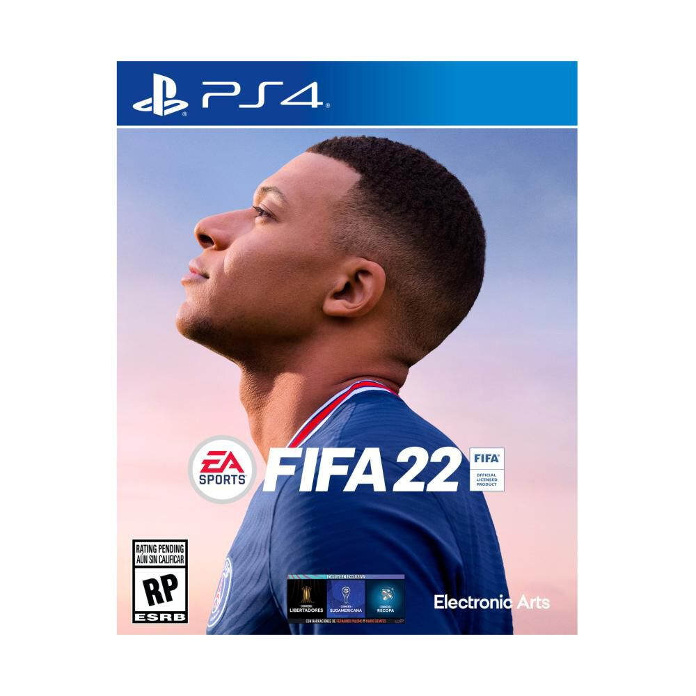 Juego Playstation 4 Sony Fifa 22 image number 0.0