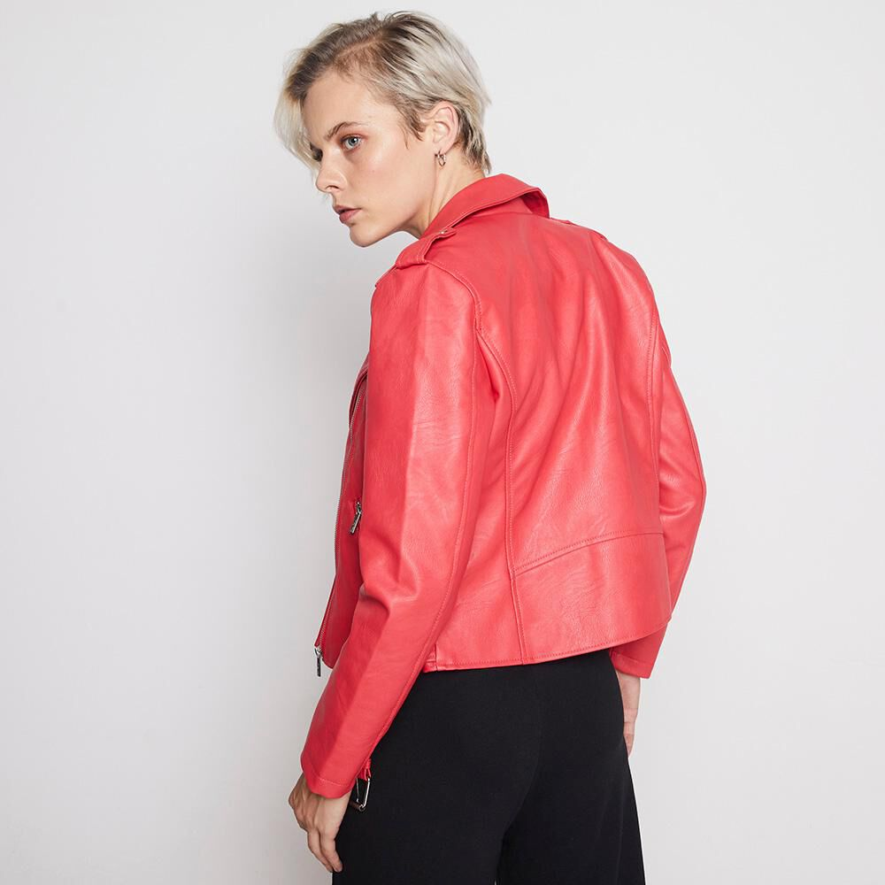 Chaqueta Ecocuero Mujer Rolly Go image number 2.0