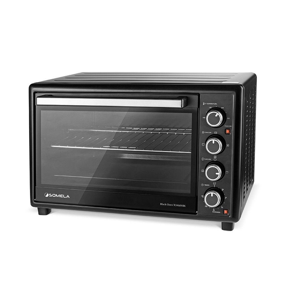 Horno Eléctrico Somela Black Oven To4601Bk / 46 Litros image number 0.0