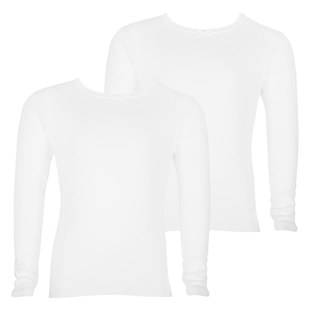 Camiseta Básico Niña Palmers / 2 Unidades image number 0.0