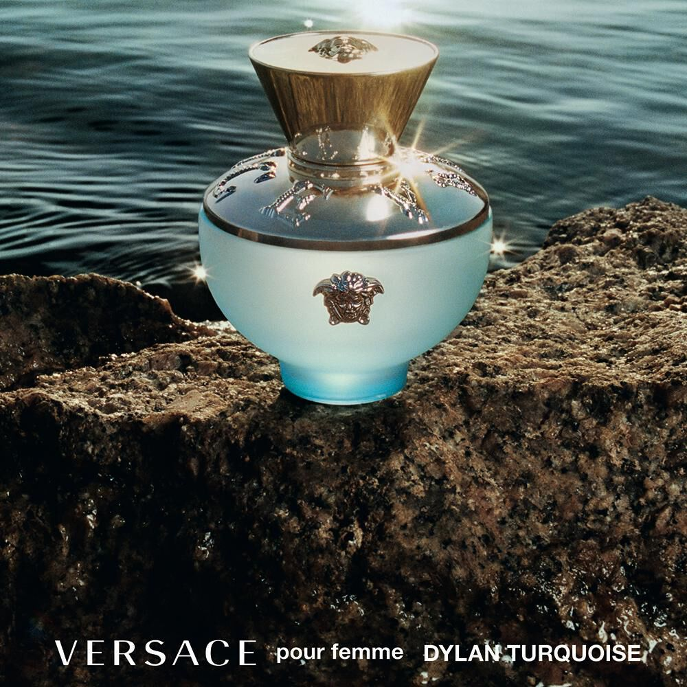 Perfume Dylan Turquoise Versace / 100 Ml / Edt image number 5.0