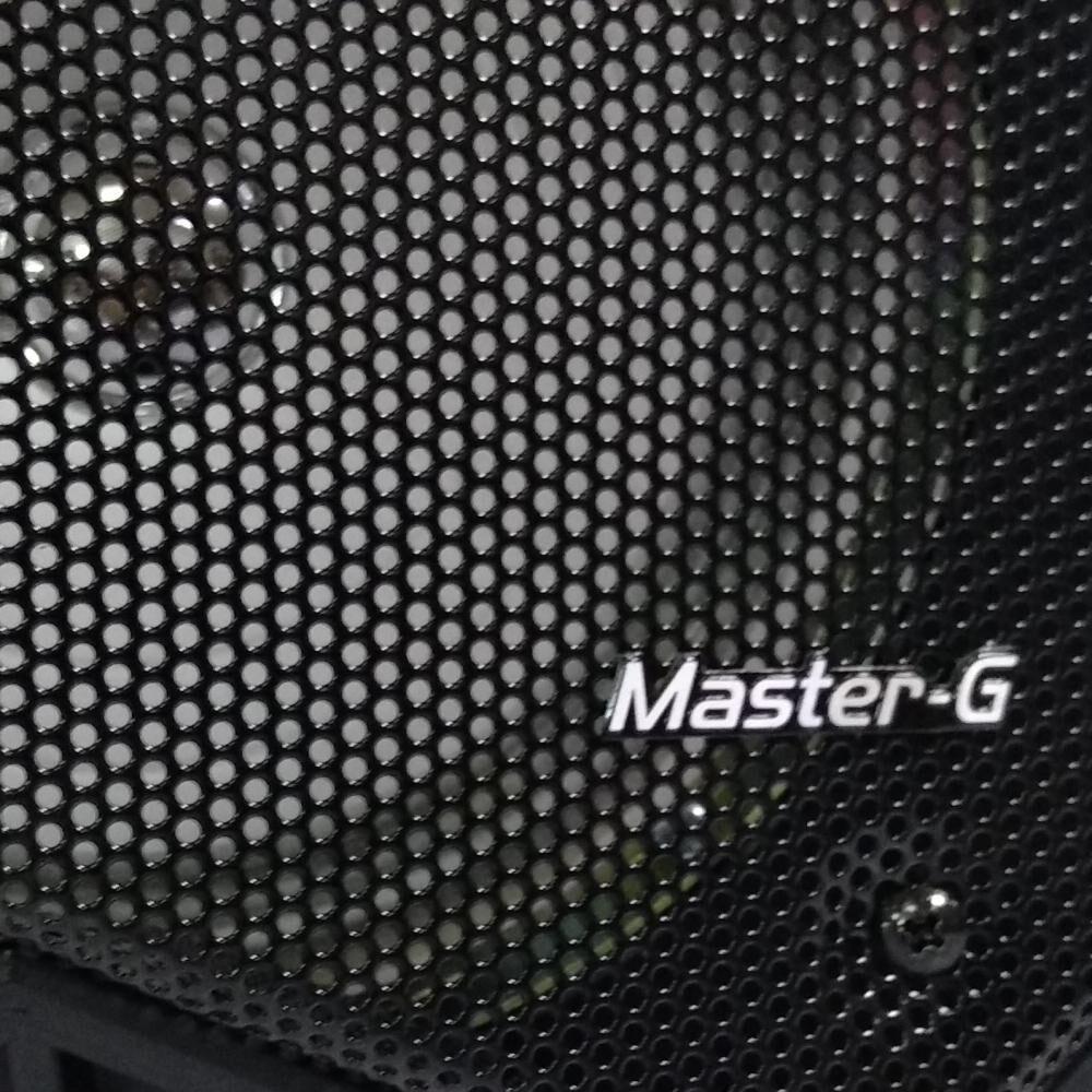Parlante Para Karaoke Master G Spbif7 image number 1.0