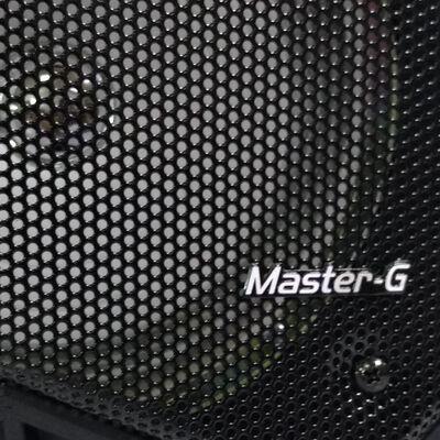 Parlante Para Karaoke Master G Spbif7