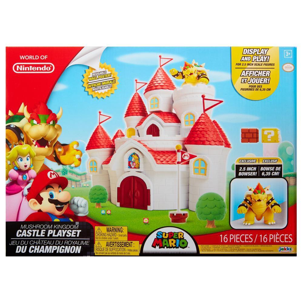 Figura Coleccionable Nintendo Playset Musheoom Kingdom Castillo image number 4.0