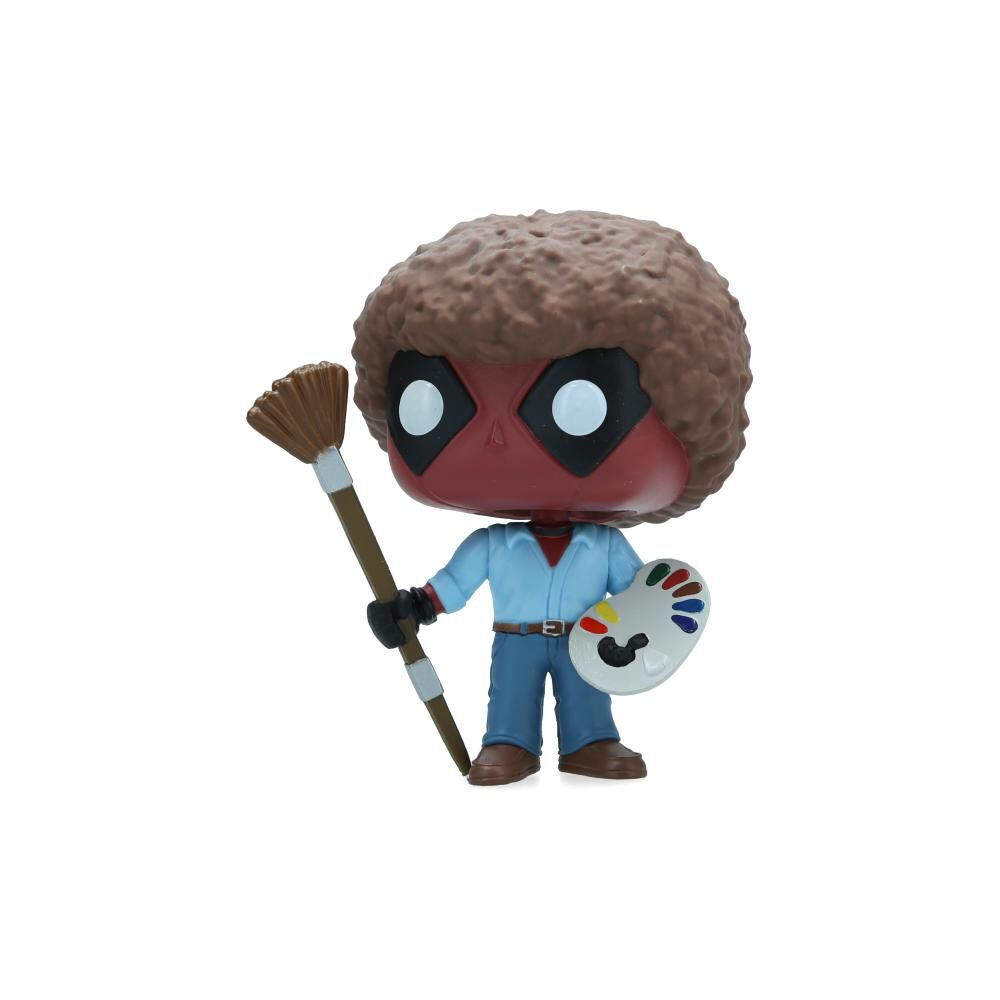 Figuras Coleccionables Funko Deadpool Bob Ross image number 2.0
