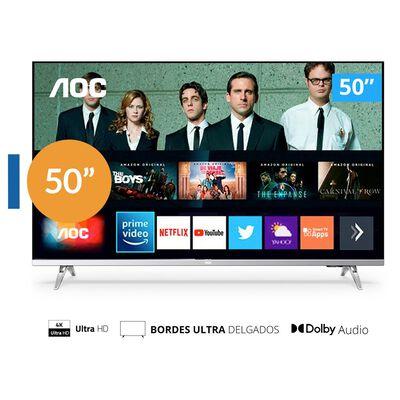 """Led AOC 50U6305 / 50"""" / UHD / Smart TV"""