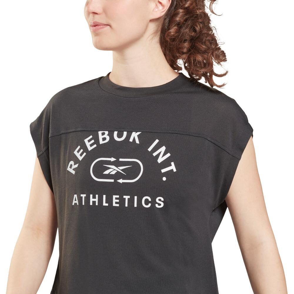 Polera Mujer Reebok Workout Ready Supremium Big Logo Tee image number 1.0