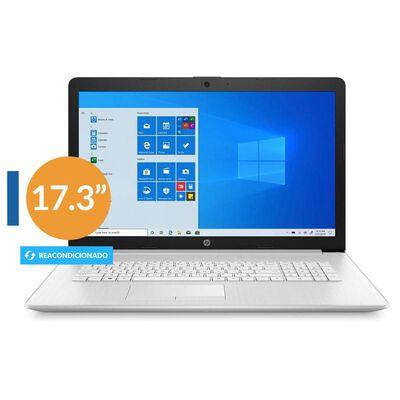 "Notebook Hp Pavilion 17-by3063st Reacondicionado / Plata / Intel Core I3 / 8 Gb Ram / Intel Uhd Graphics / 1 Tb + 128 Gb Híbrido / 17.3 ""/ Teclado en Inglés"