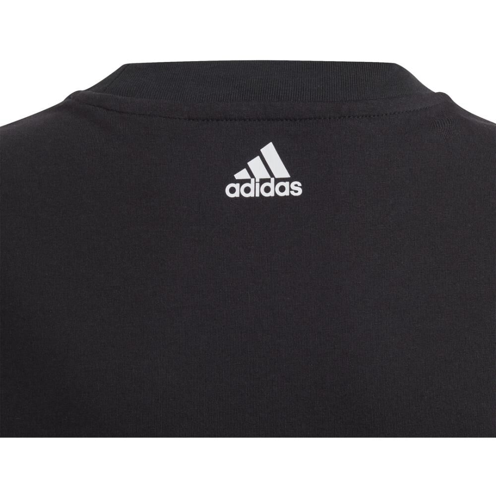 Polera Hombre Adidas Young Boys Linear Colorbock T-shirt image number 4.0