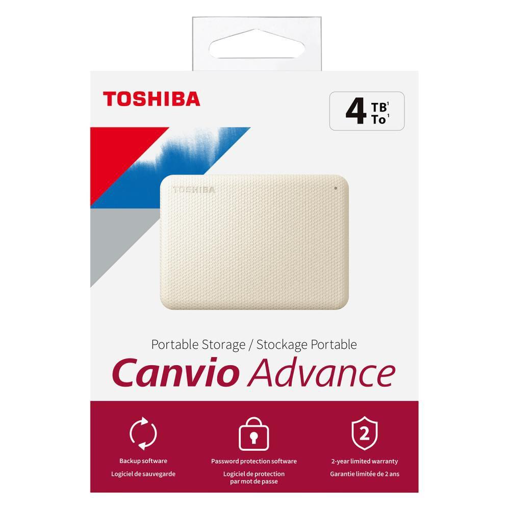 Disco Duro Portátil Toshiba Canvio Advance V10 / 4 Tb image number 7.0