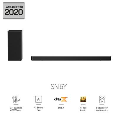 Soundbar LG Barra De Sonido SN6Y 2020
