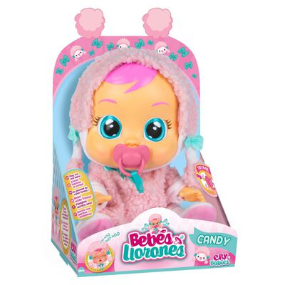 Muñeca Cry Babies Bebes Llorones Candy
