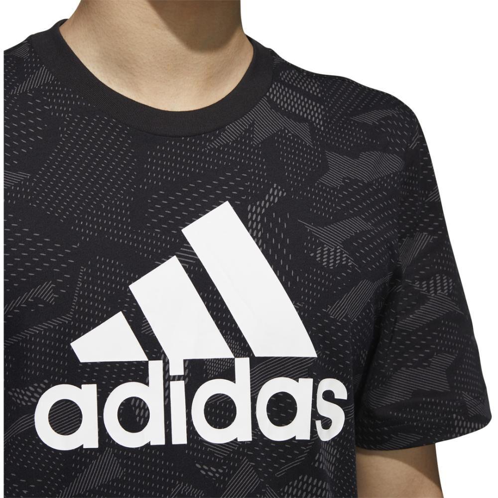 Polera Hombre Adidas Mens Essentials Aop T-shirt image number 5.0
