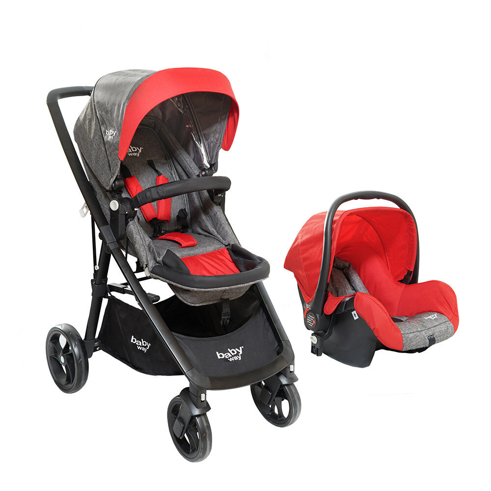Coche Travel System Baby Way Bw-412R18 image number 0.0