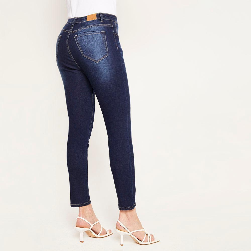 Jeans Básico Tiro Medio Skinny Mujer Kimera image number 2.0