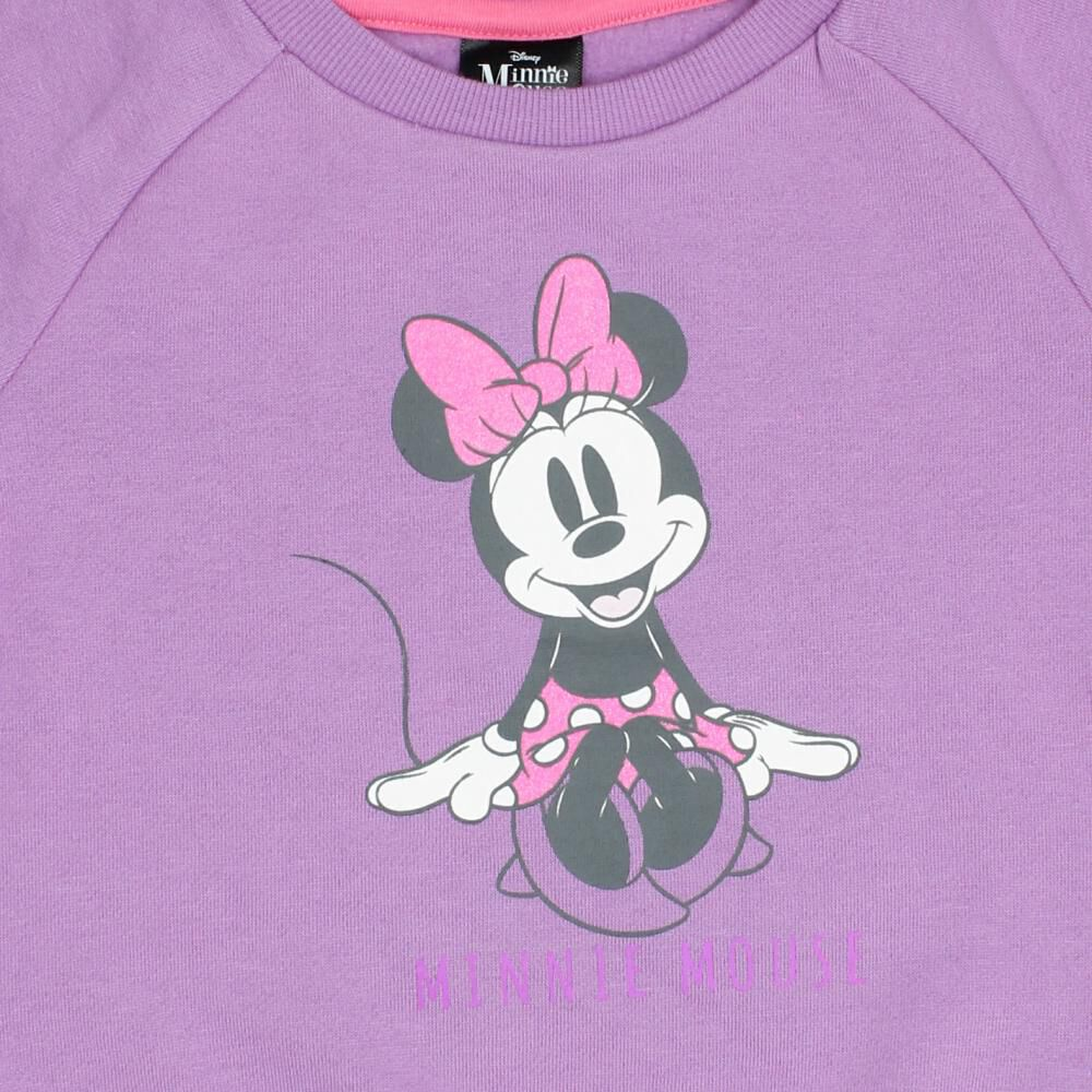 Poleron Bebe Niña Minnie image number 2.0