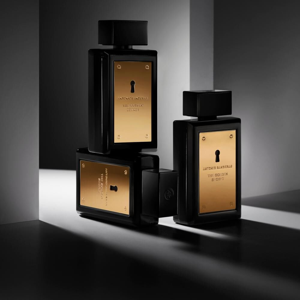 Perfume The Golden Secret Antonio Bandera / 50 Ml / Eau De Toillete + Desodorante image number 4.0