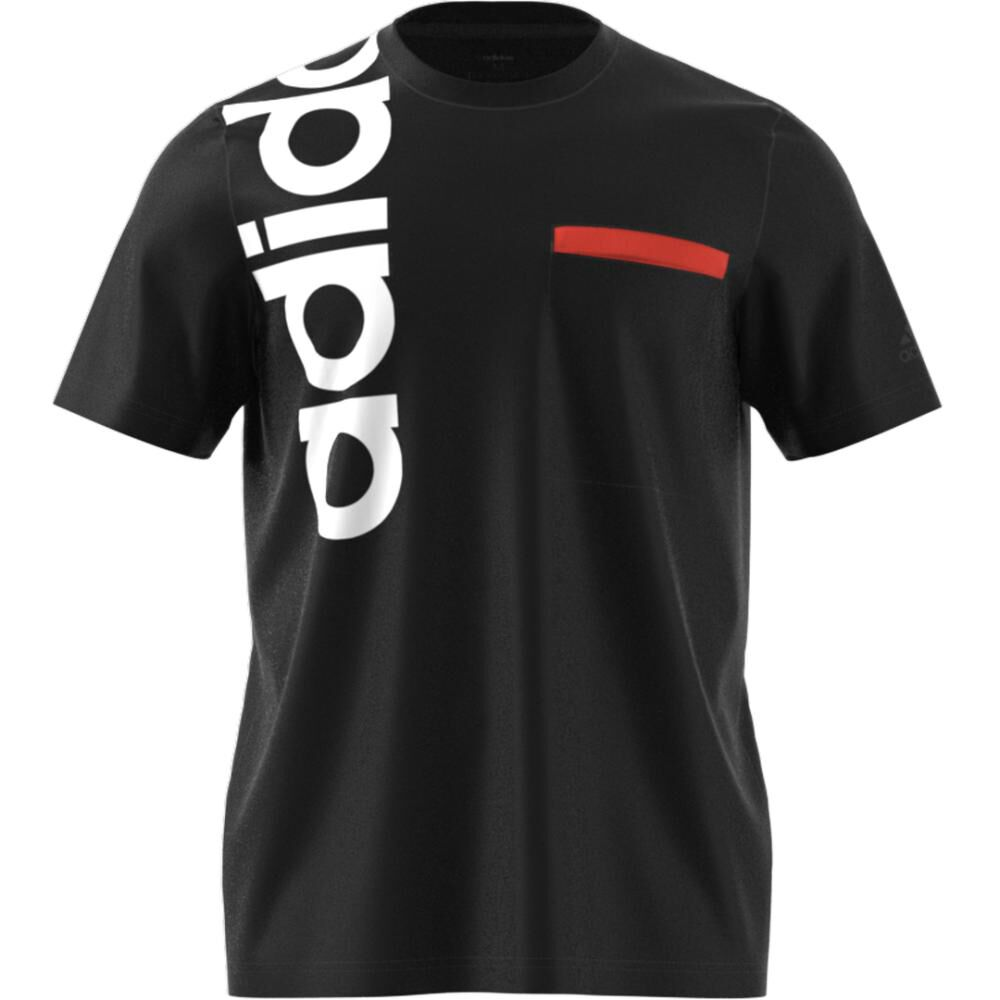 Polera Hombre Adidas M New Authentic Tee image number 7.0
