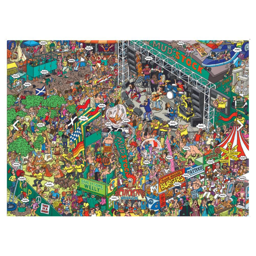 Puzzle Eurographics 8500-5459 Oops! image number 1.0