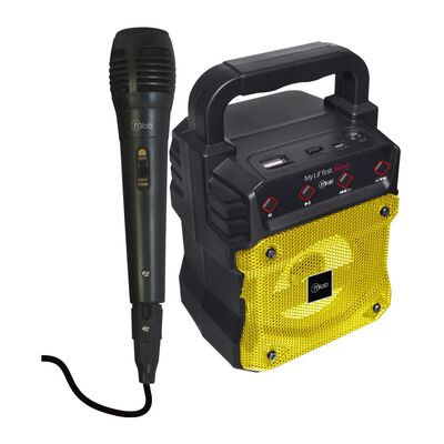 Parlante Para Karaoke Microlab My Lil First Yellow